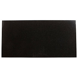 Black Granite Wall & Floor Tile, Pack of