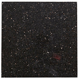 Galaxy Black Granite Wall & Floor Tile, Pack