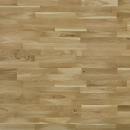 Colours Natural Oak Real Wood Top Layer Flooring