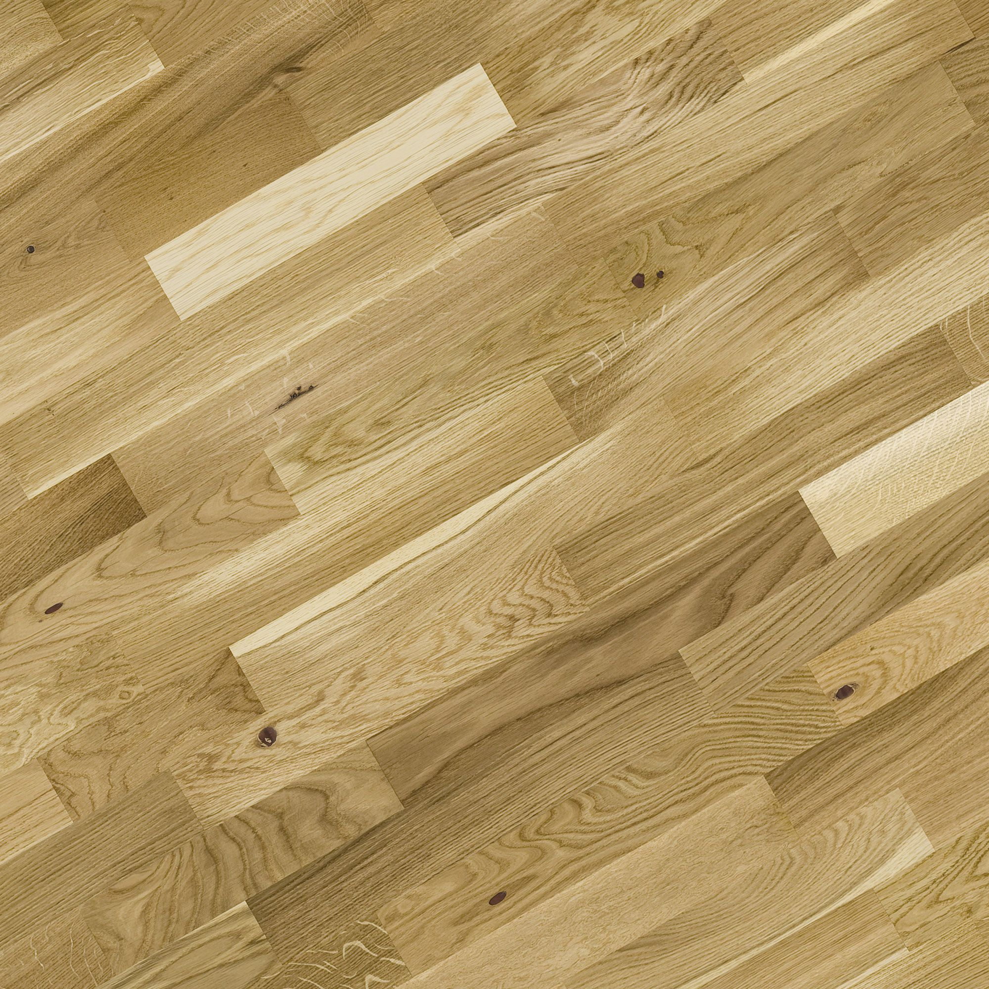 B Q Natural Oak Effect Wood Top Layer Flooring 2 03m² Pack