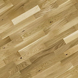 B&Q Natural Oak Real Wood Top Layer Flooring