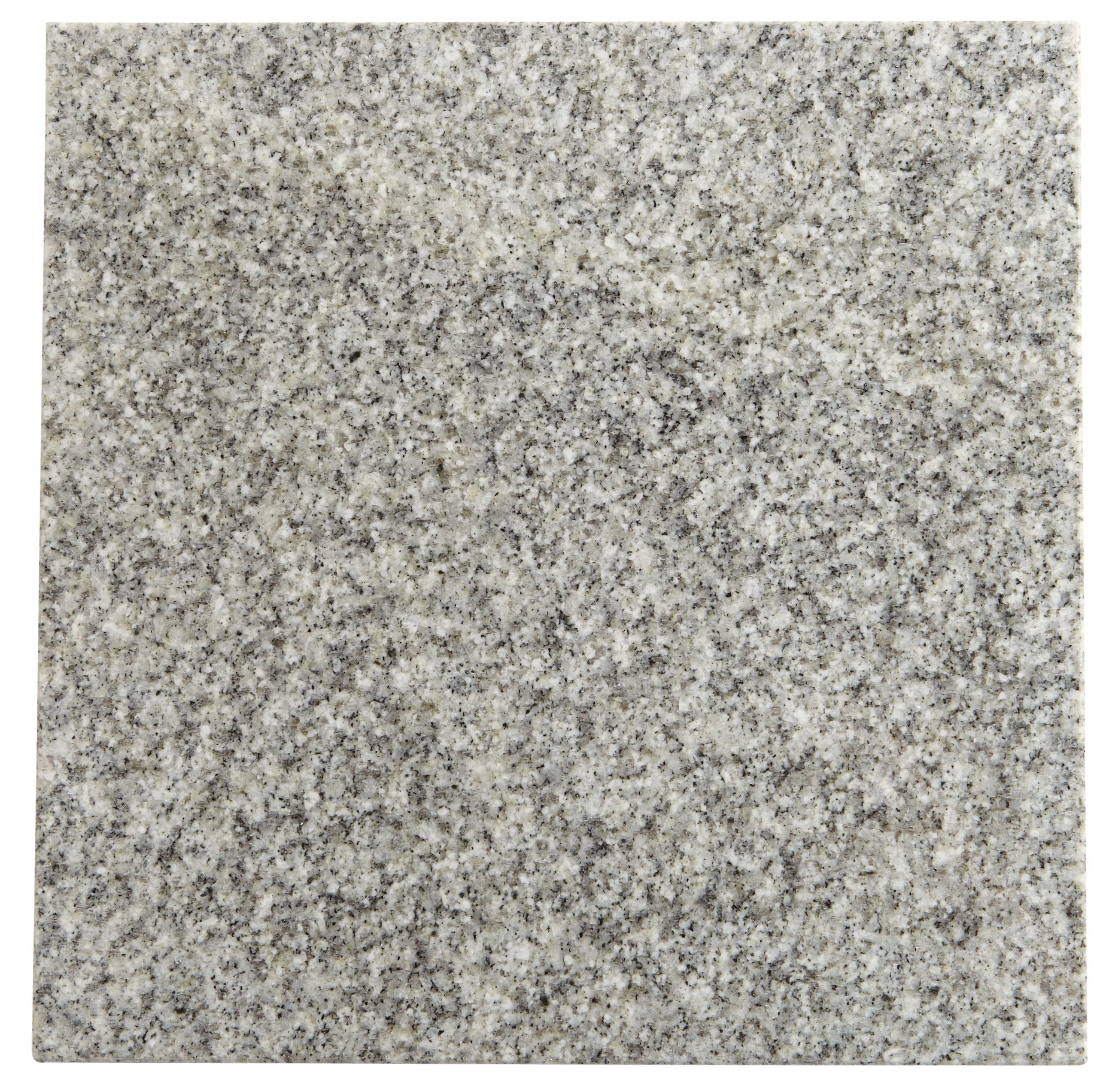 Grey Stone Effect Granite Wall & Floor Tile, Pack Of 5, (l)305mm (w)305mm