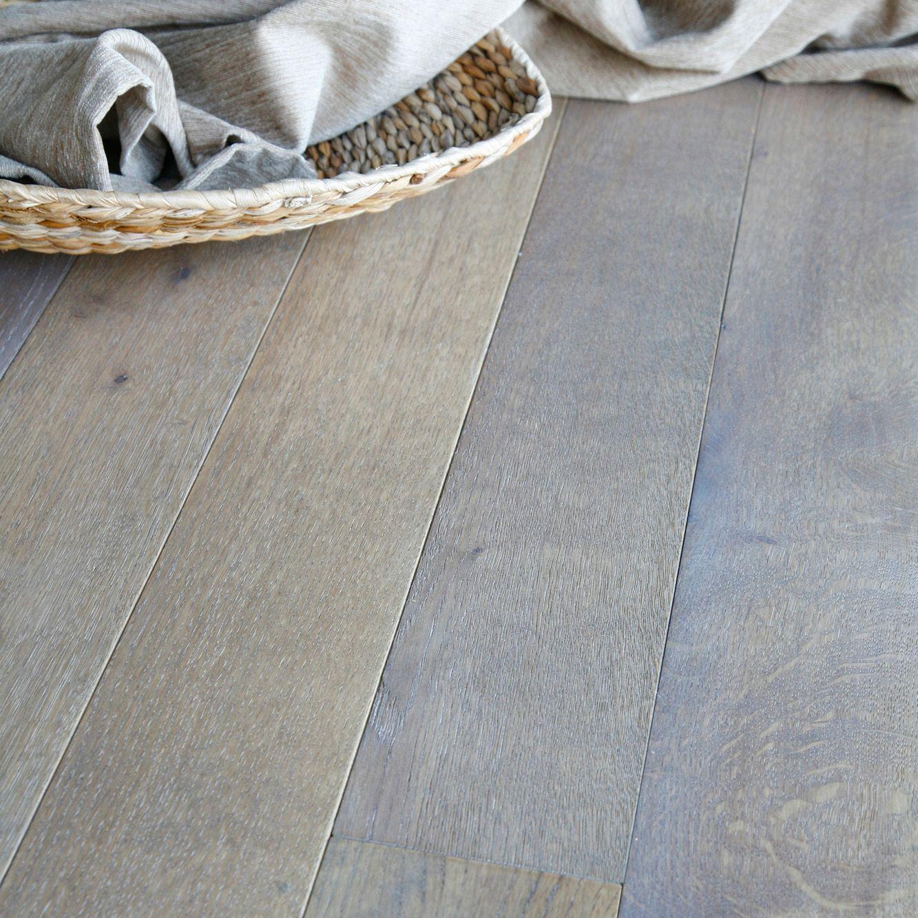 Colours Rondo Dove Grey Solid Oak Flooring Oak Effect Sample