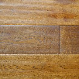 Colours Rondo Wheat Solid Oak Flooring Sample
