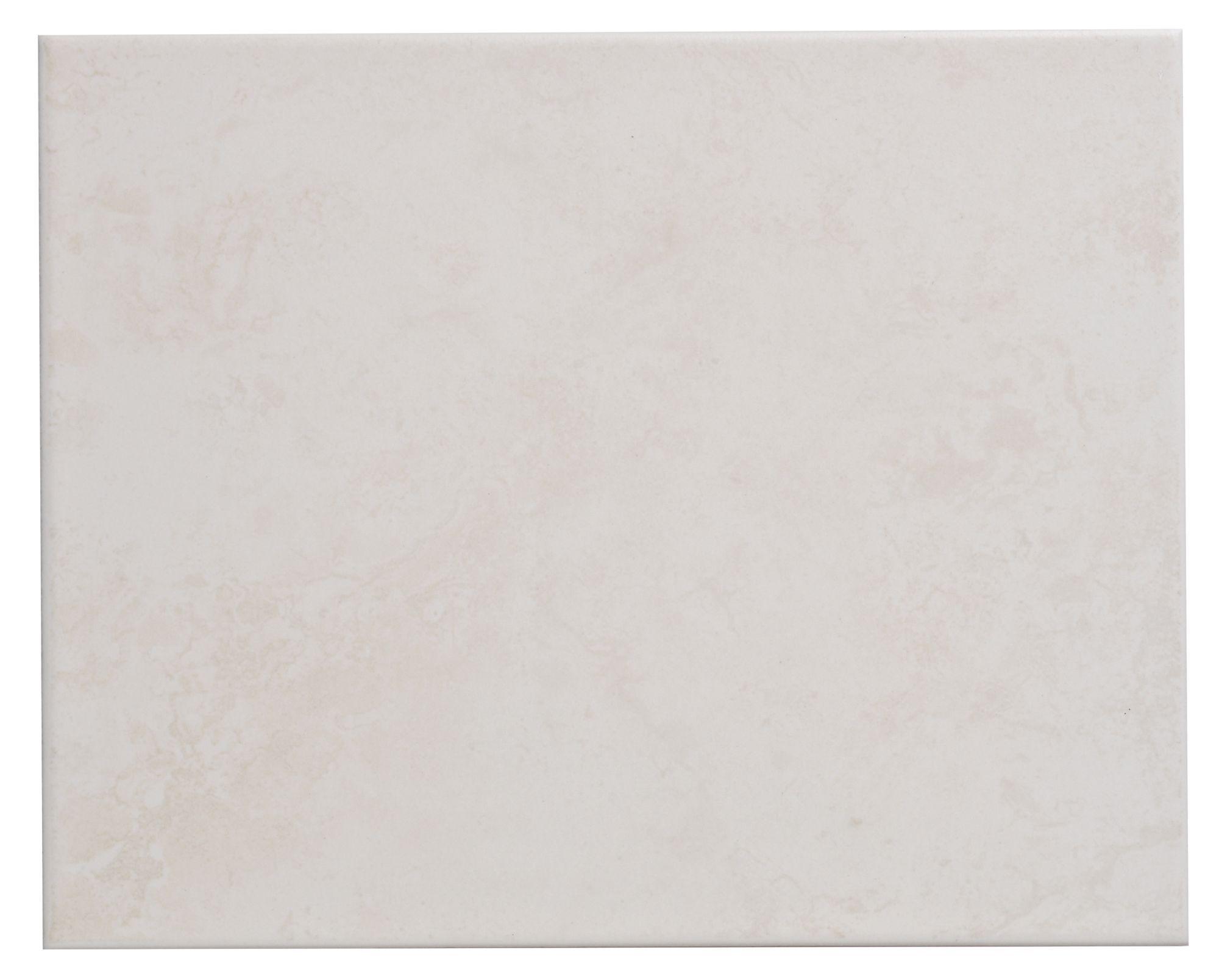 Helena Light Beige Ceramic Wall Tile, Pack Of 20, (l)250mm (w)200mm