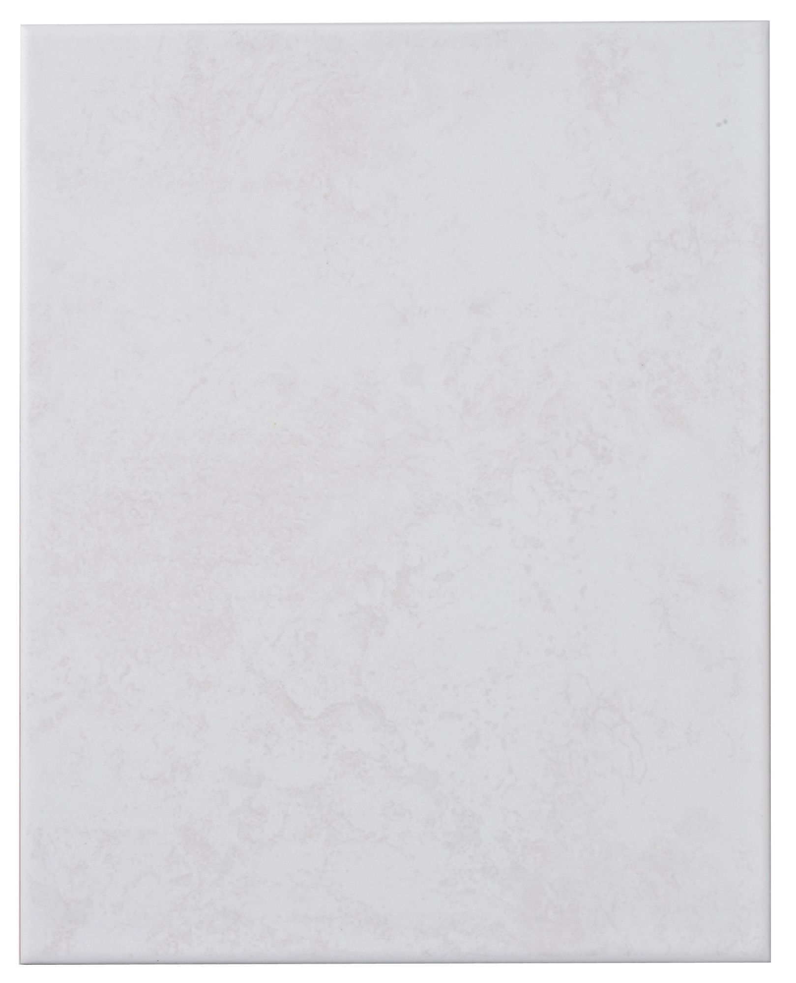 Helena Light Grey Ceramic Wall Tile, Pack Of 12, (l)330mm (w)250mm
