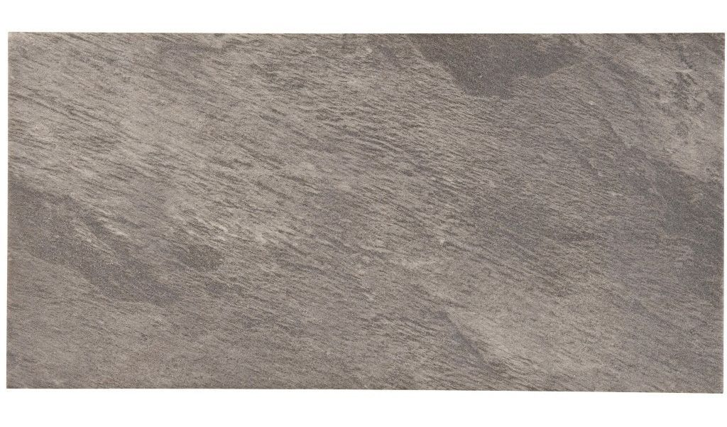 Indus Beige Stone Effect Porcelain Wall & Floor Tile, Pack of 6, (L)600mm (W)300mm