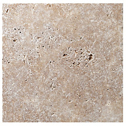 Tumbled Noce Stone Effect Travertine Wall & Floor