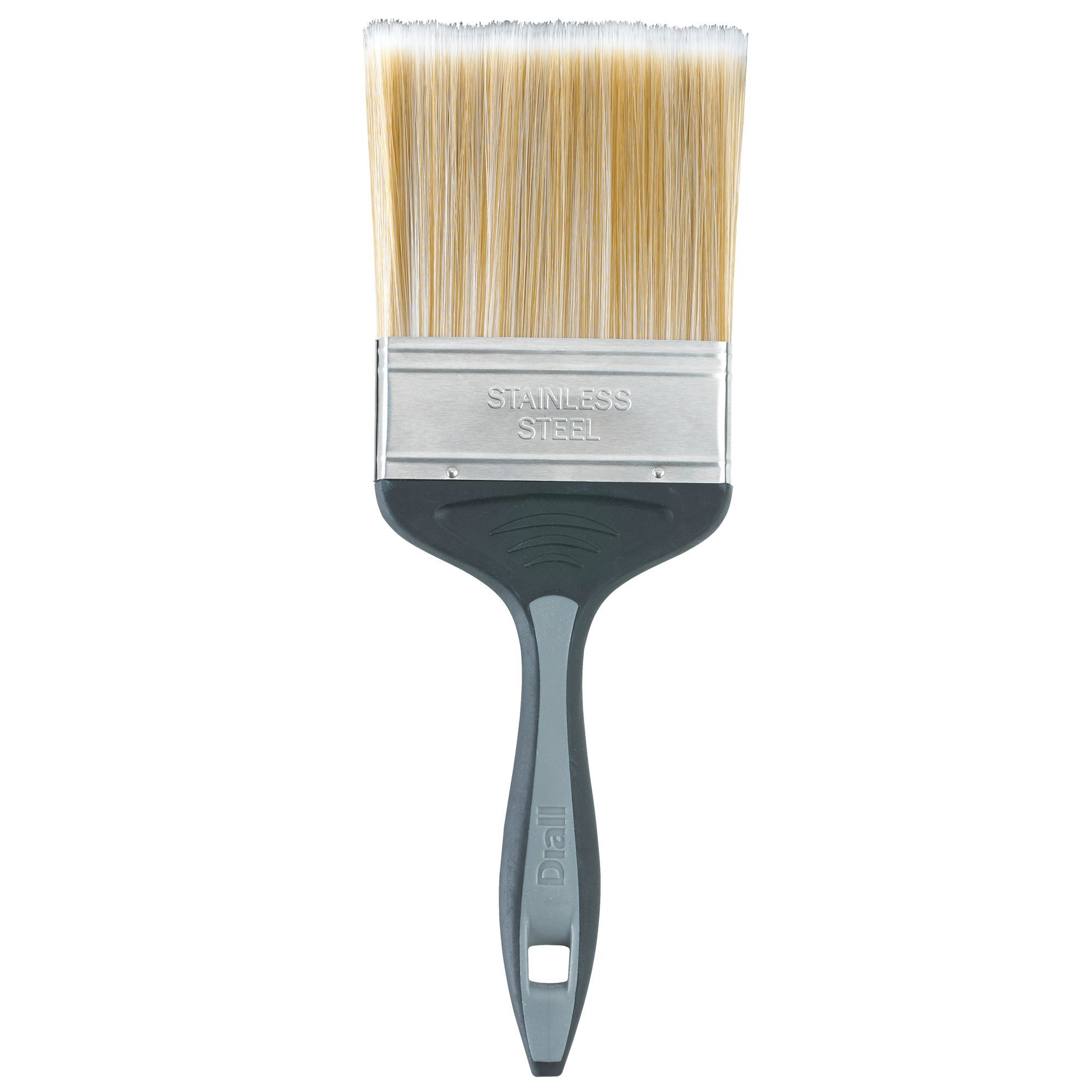 Diall Fine Finish Soft Tipped Paint Brush (w)4 Inches