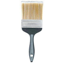 Diall Fine Finish Soft Tipped Paint Brush (W)4""