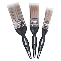 "Diall Fine Finish Soft Tipped Paint Brush (W)1"","