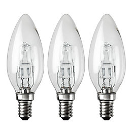 Diall Small Edison Screw Cap (E14) 28W Halogen