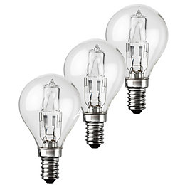 Diall Small Edison Screw Cap (E14) 42W Halogen