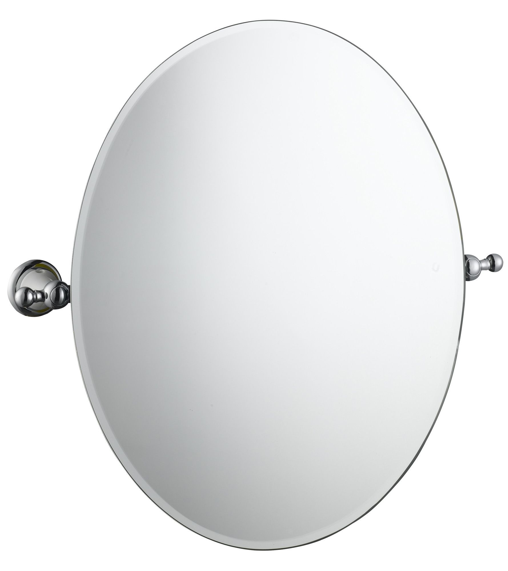 Cooke and lewis bathroom mirrors - Cooke Lewis Timeless Oval Wall Mirror W 501mm H 500mm Departments Diy At B Q