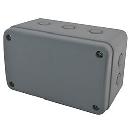Diall Grey Junction Box