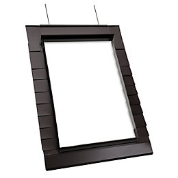 Geom Brown Slate Flashing (H)980mm (W)740mm