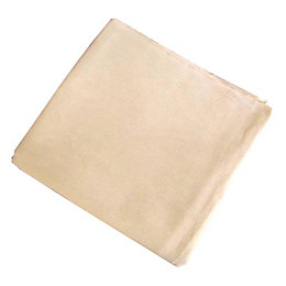 Diall Cotton Dust Sheet (L)2.7m (W)3.6m, Pack of