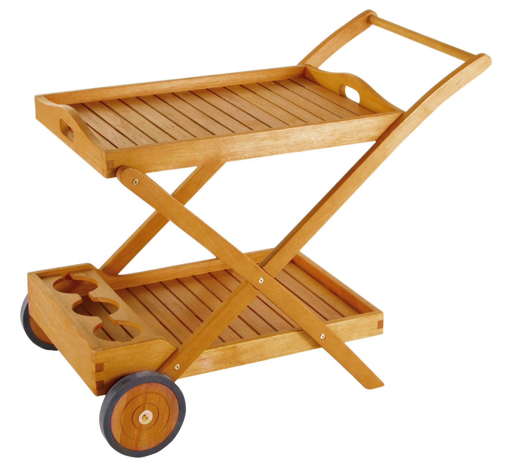 Aland Wooden Drink Trolley Rooms Diy At B Q