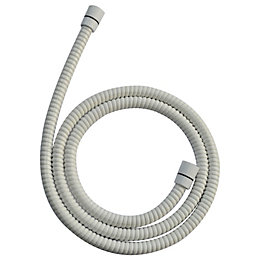 Cooke & Lewis White White PVC Shower Hose