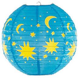 Colours Venus Blue & Yellow Stars & Moons