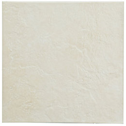 Cirque Beige Ceramic Floor Tile, Pack of 9,