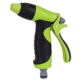 Verve Black & Green Pistol Gun Hose Head