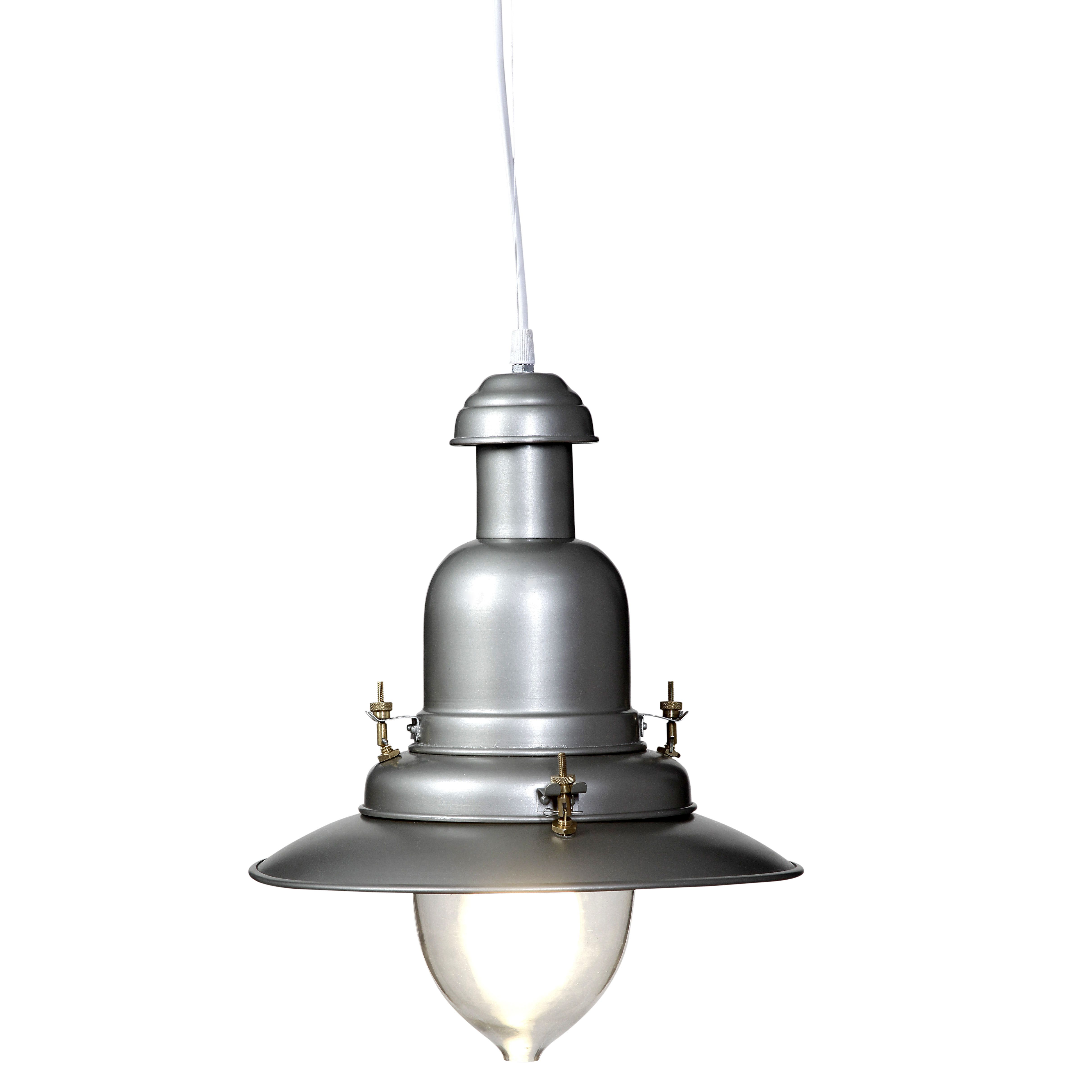 Outdoor Ceiling Lights B And Q : Mulgrave pewter effect pendant ceiling light departments