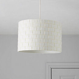 Colours Krios White Light Shade (D)30cm