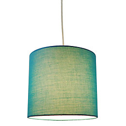 Colours Indio Blue Droplet Inner Pattern Light Shade