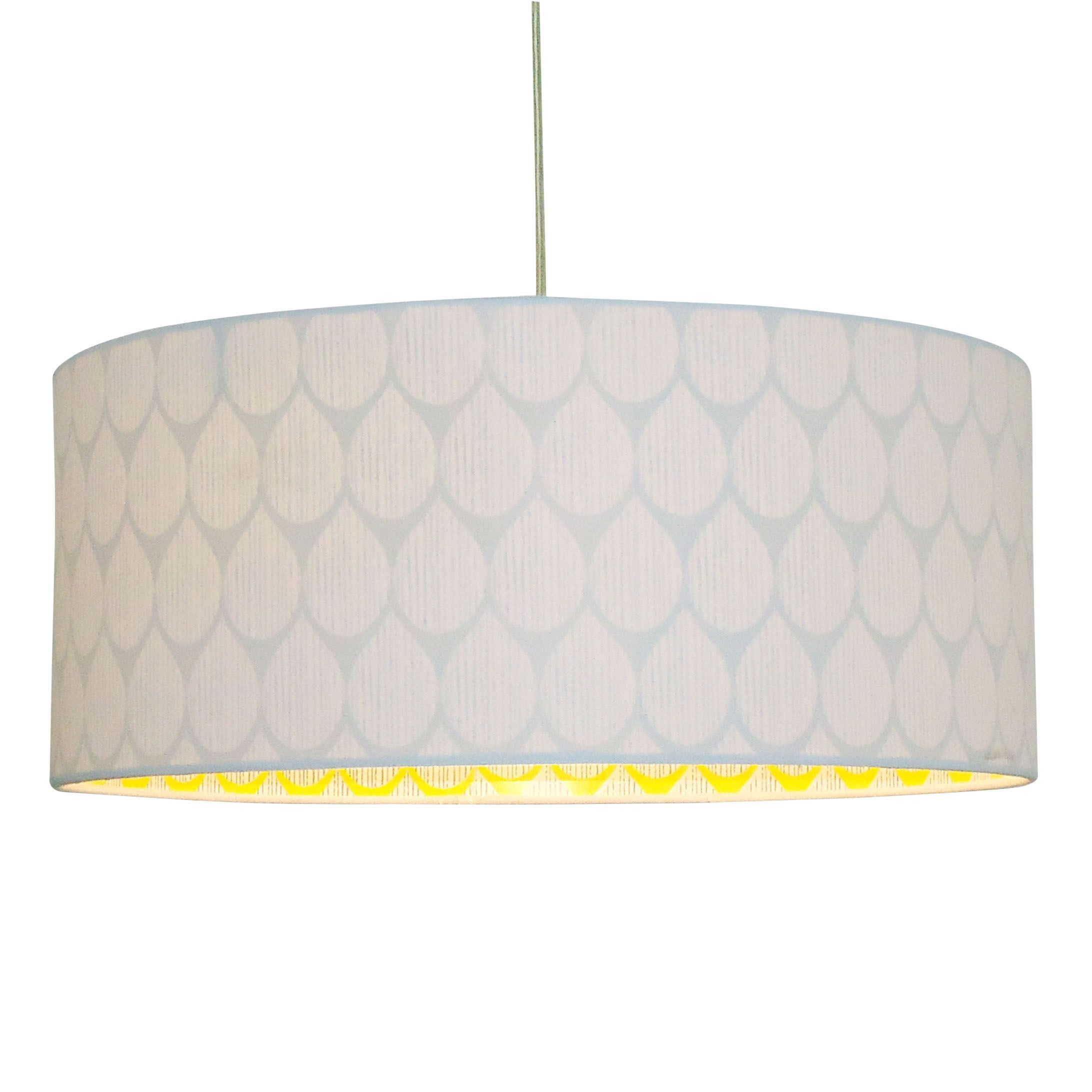Colours Indio White Droplet Inner Pattern Light Shade D