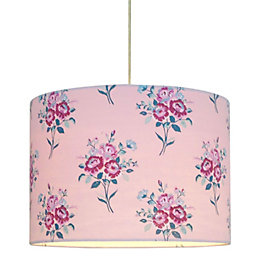 Colours Ellie Pink Floral Light Shade (D)28cm