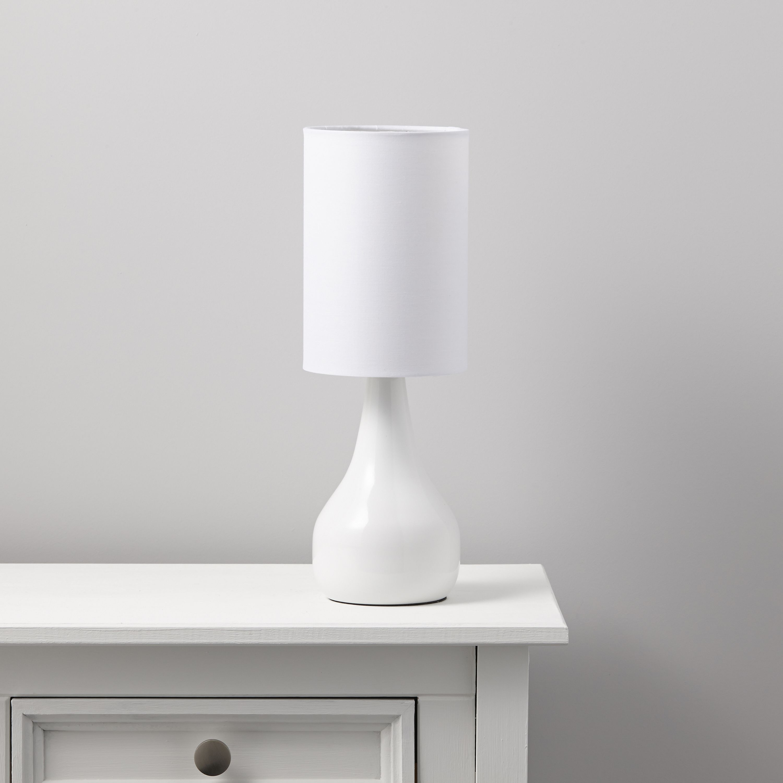 Ariel White Table Lamp