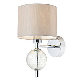 Gina Beige Single Wall Light