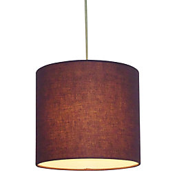 Colours Haymarket Blueberry Light Shade (D)20cm