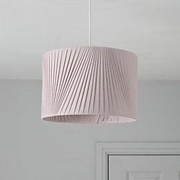 Colours Lainie Mauve V-Pleat Light Shade (D)30cm