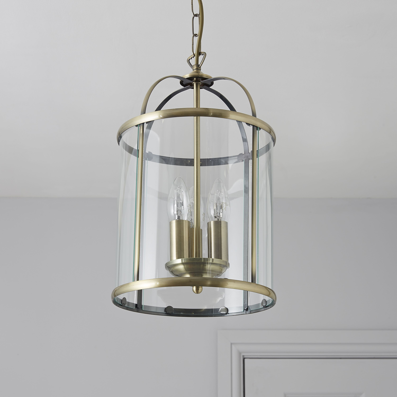 & Meira Gold 3 Lamp Pendant Ceiling Light | Departments | DIY at Bu0026Q azcodes.com