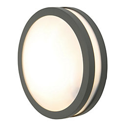 Blooma Komet Grey Mains Powered External Wall Light