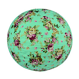 Colours Elodia Blue Flower Pattern Light Shade (D)40cm