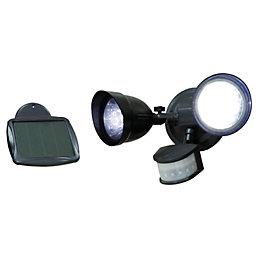 Blooma Anza 2.16W Solar Powered Sensor Twin Spotlight