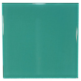 Scarab Glass Border Tile, (L)98mm (W)98mm