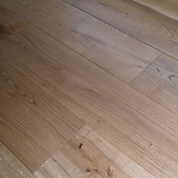 Colours Symphonia Rustic Natural Solid Oak Flooring Sample