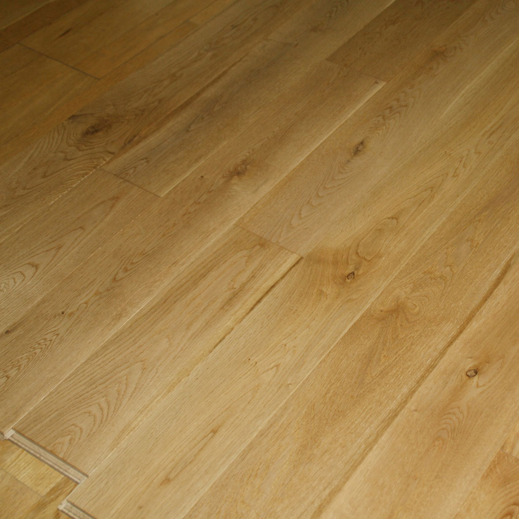 Colours Symphonia Natural Solid Wood Flooring Sample Oak Effect