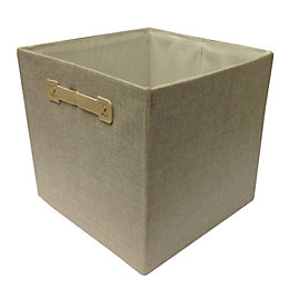 Form Beige Plastic Storage Box