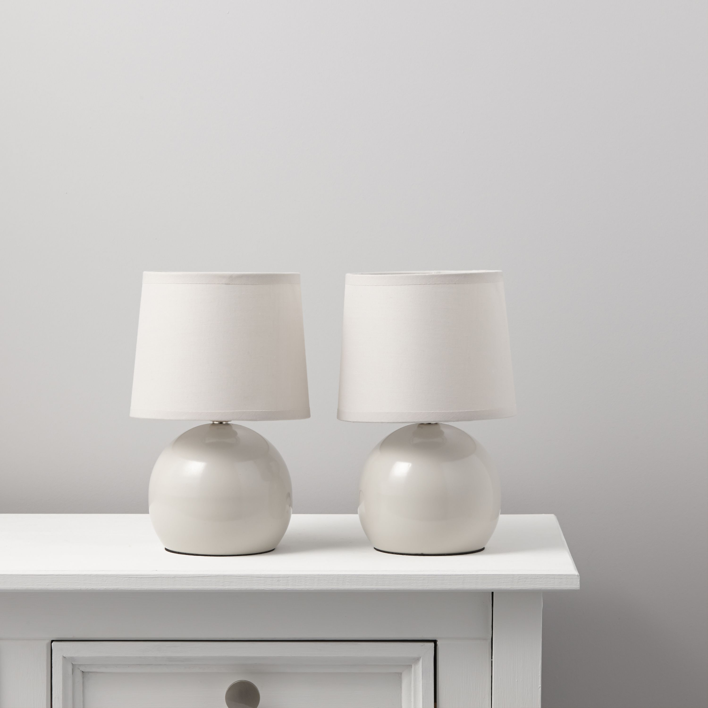 Neda Pebble Table Lamp, Pack Of 2