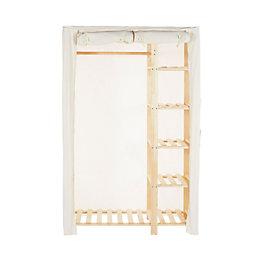 Canvas Wardrobe (H)1.890 M (W)1.11 M