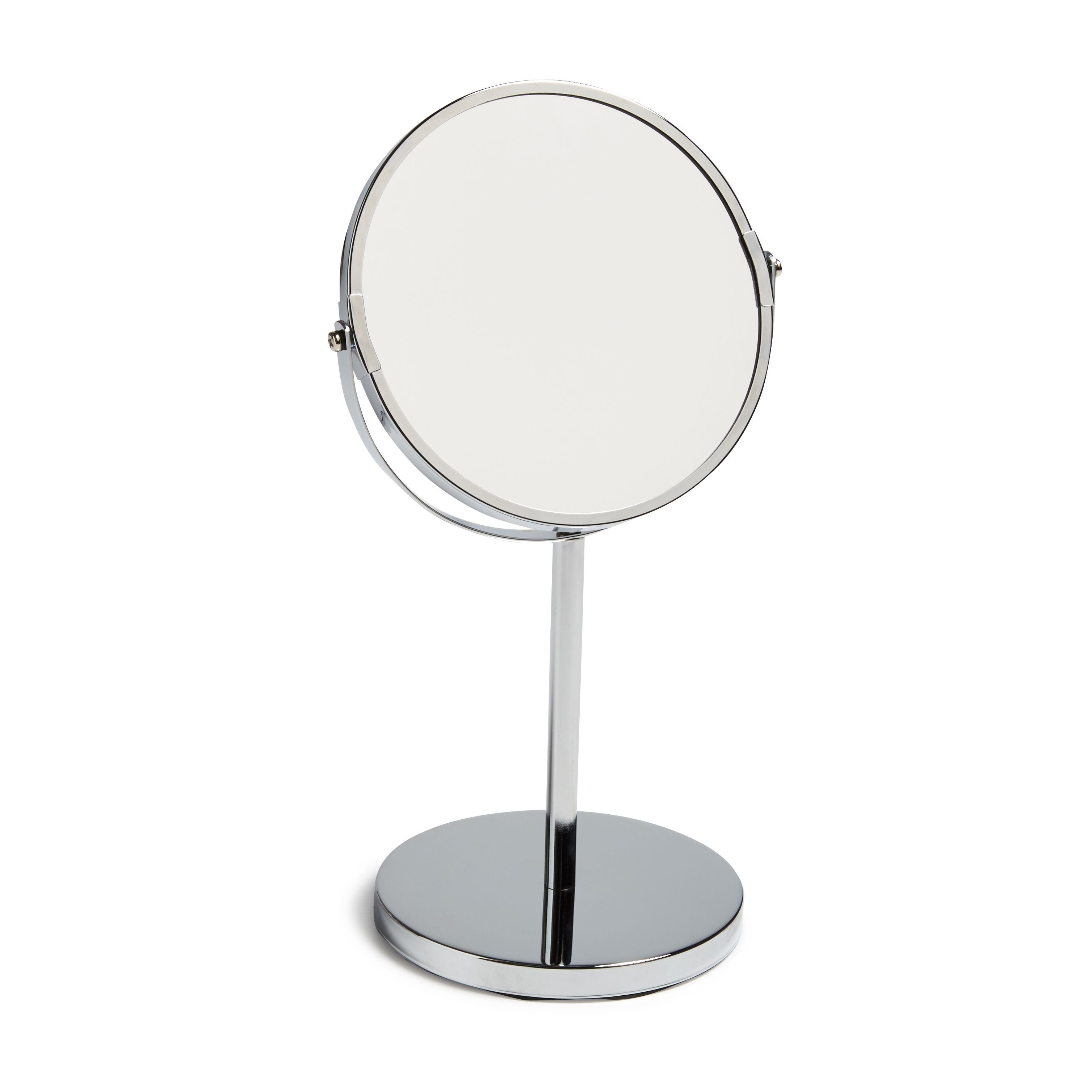 Cooke and lewis bathroom mirrors - Cooke Lewis Solitaria Chrome Plated Unframed Circular Mirror H 345mm W