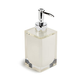 Cooke & Lewis Ice White Soap Dispenser