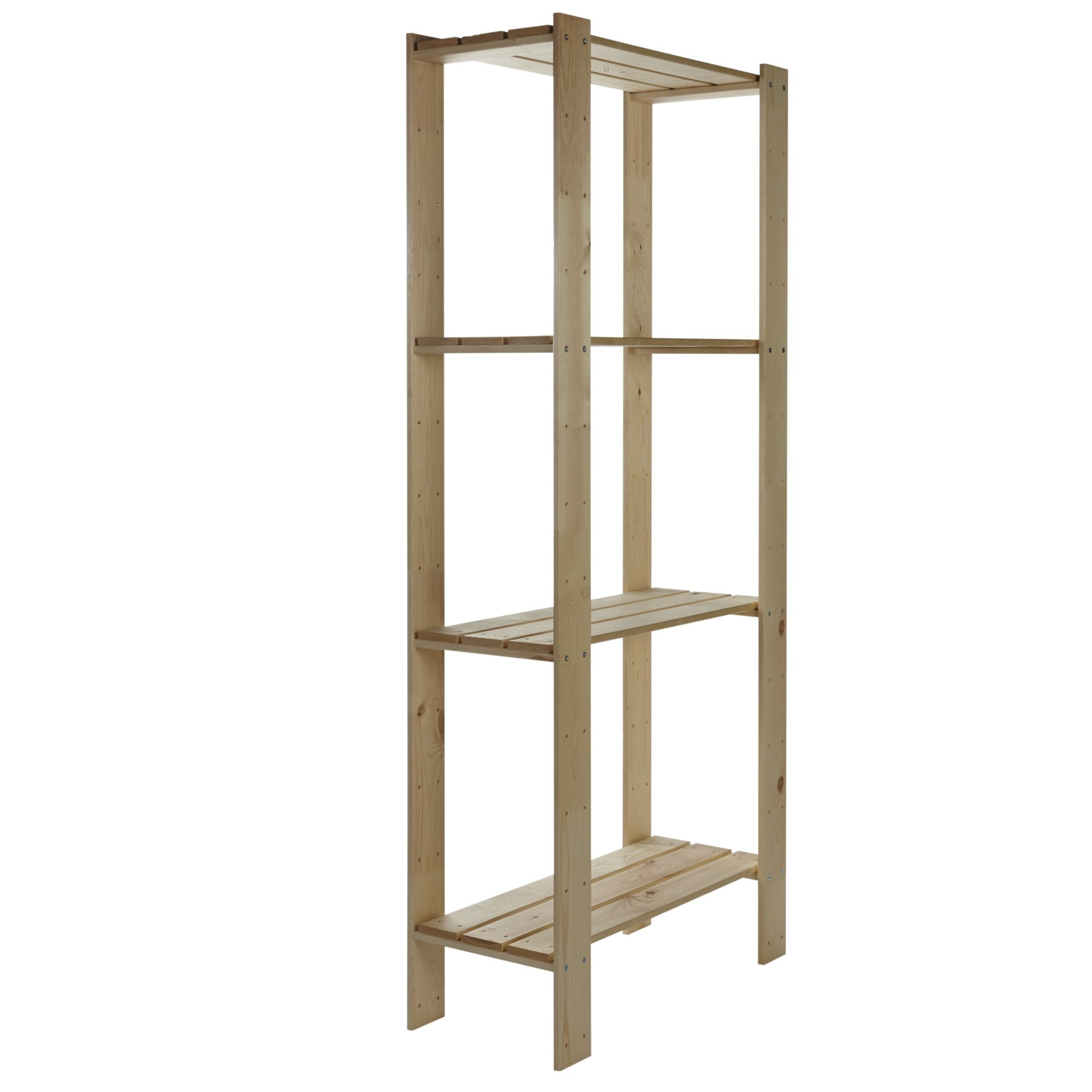 Bathroom Cabinets Uk Bq Form Shelving Unit H1740mm W750mm D340mm Departments Diy