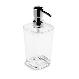 Cooke & Lewis Jeta Clear Soap Dispenser