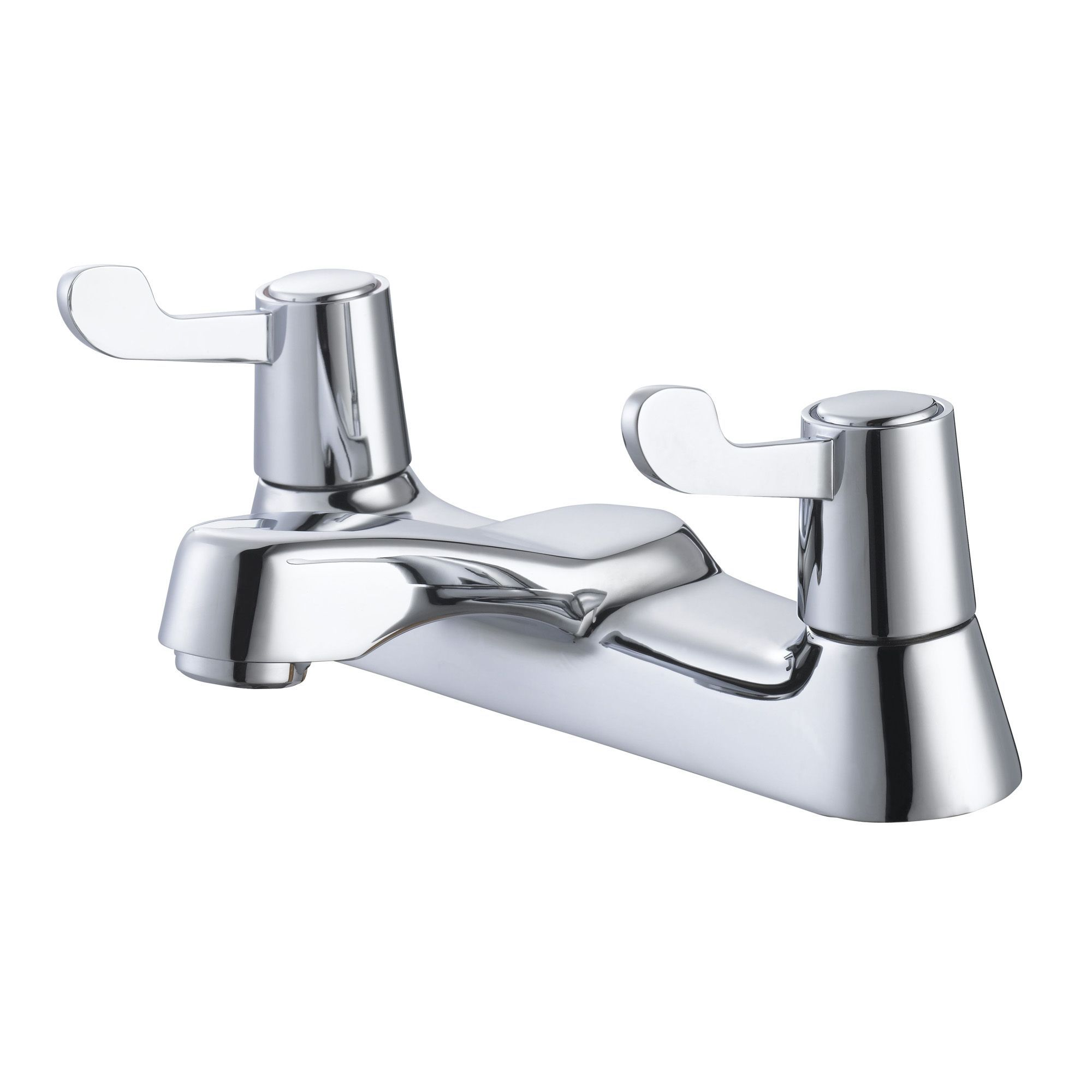Plumbsure Amber Chrome Bath Mixer Tap | Departments | DIY ...